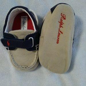 Ralph Lauren infant loafers